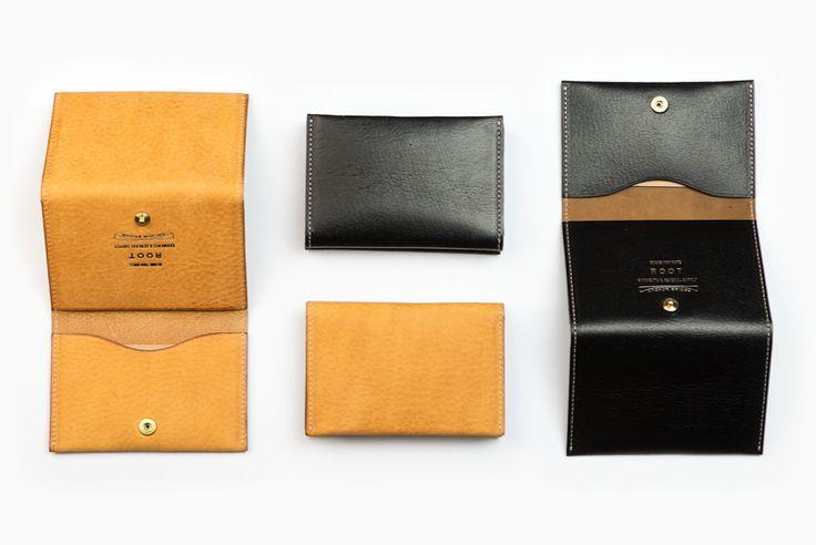 代官山のショップROOTの革小物CARD CASE カードケース