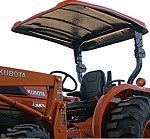 "Fiberglass Canopy Kit - 52"" x 66"" Orange - Kubota L & M Series Tractor"