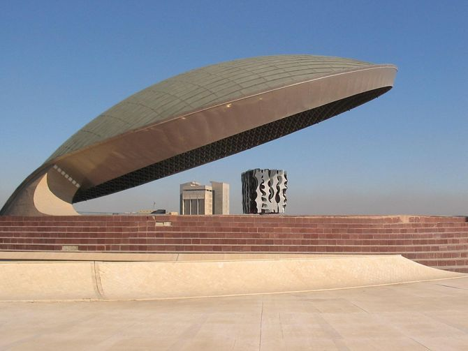 The Monument to the Unknown Soldier, Baghdad, Iraq