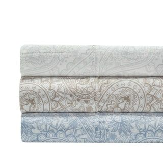 Shop for 300 Thread Count 100% Cotton Paisley Sheet Set. Free Shipping on orders over $45 at Overstock.com - Your Online Sheets