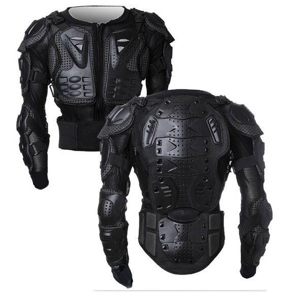 Motorcycle Racing Pit Bike Full Body Back Armor Spine Chest Protective Jacket