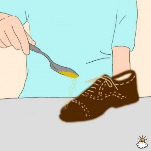 Как удалить сальные пятна с замшевой обуви? 0