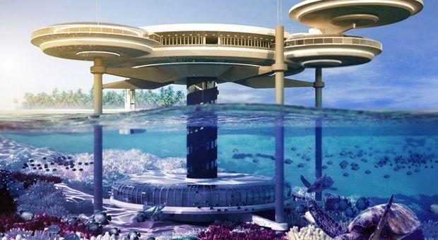 La construction d'un hôtel sous-marin expliquée aux enfants. Dans quelques années, il suffira tout simplement de réserver une chambre dans un hôtel sous-marin.