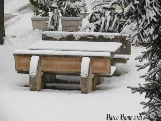 Neve ( a Milano )