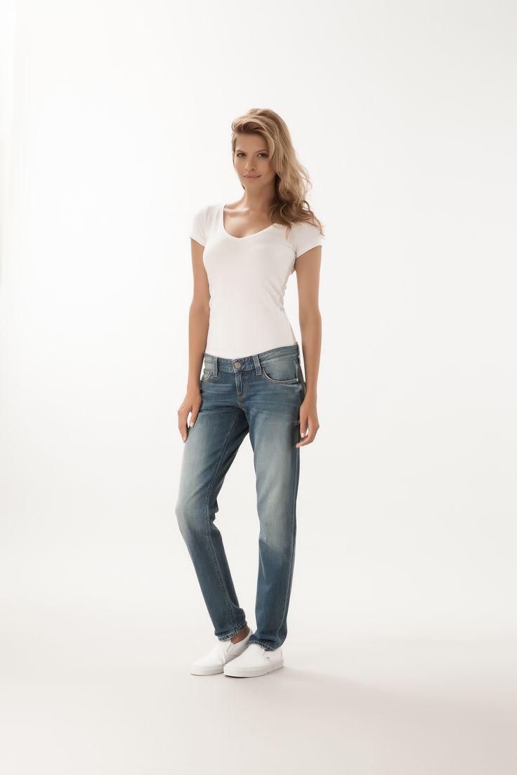 Tapered Boyfriend Fit  #denim #CrossJeans