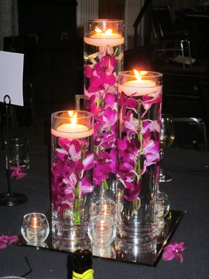 Candles For Centerpieces | holiday table centerpieces is to create cranberry floating candle ...