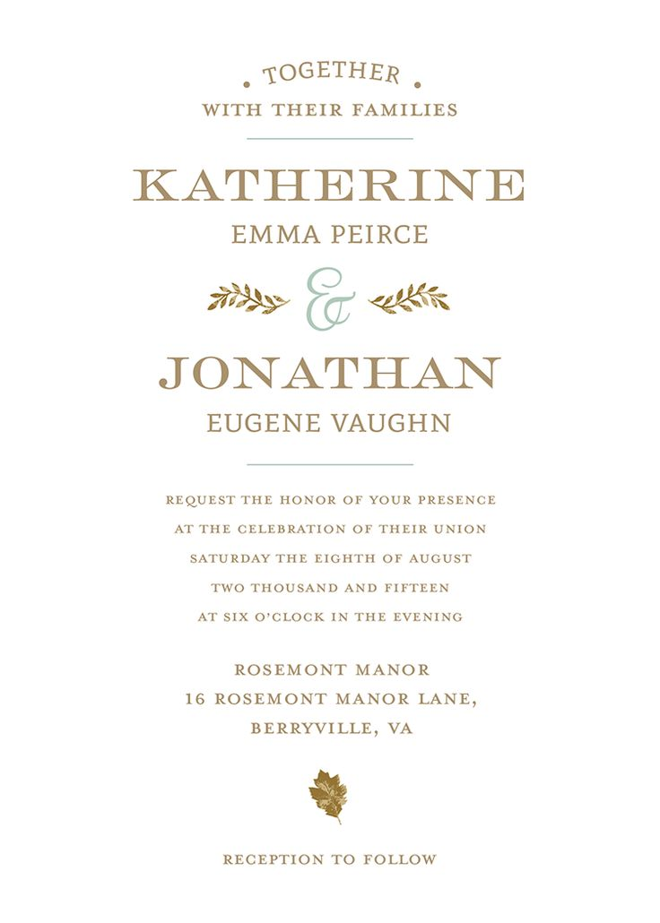 43 best wedding invitations images on pinterest | marriage, Wedding invitations