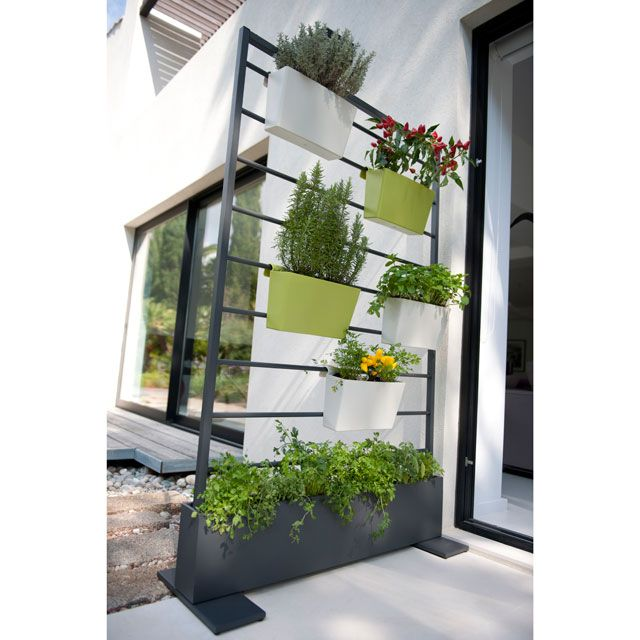 Cloison v g tale anthracite castorama 130eur office design green eco wo - Meuble balcon castorama ...