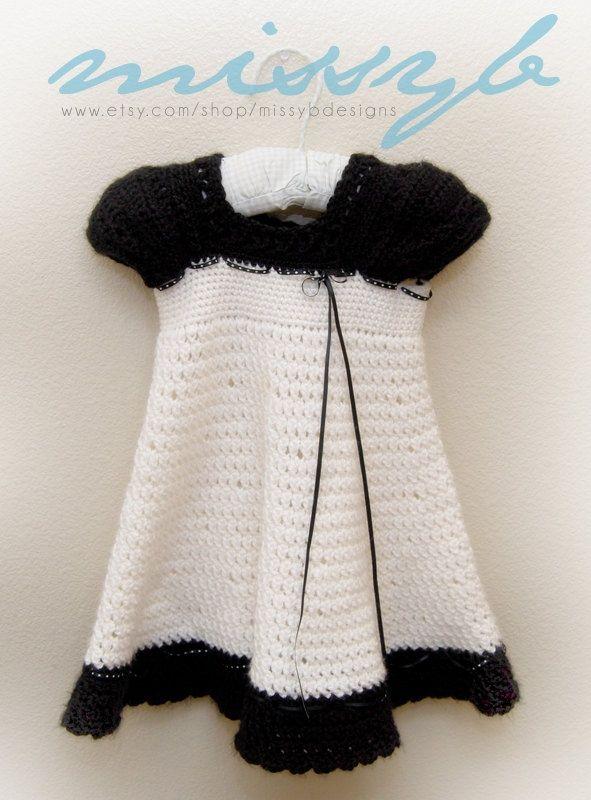 crochet dress patterns for girls   Girls Crochet Dress Pattern - Carlotta Crochet ...   crochet baby/kids