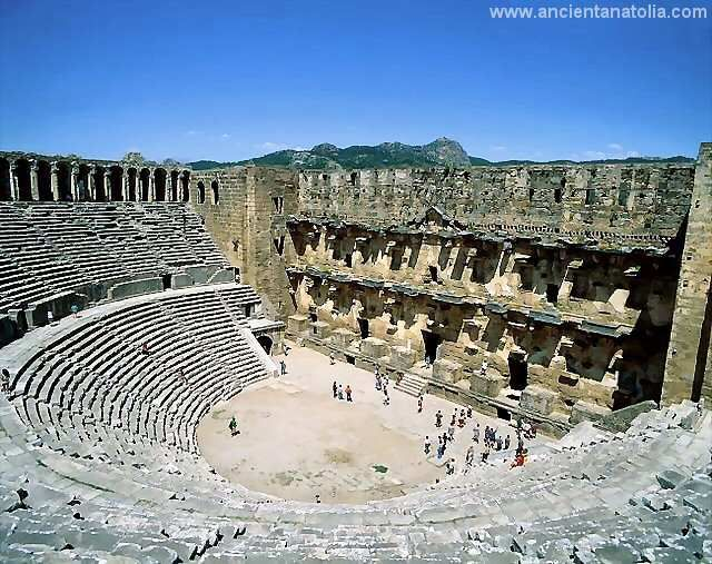 Aspendos, ancient roman theater