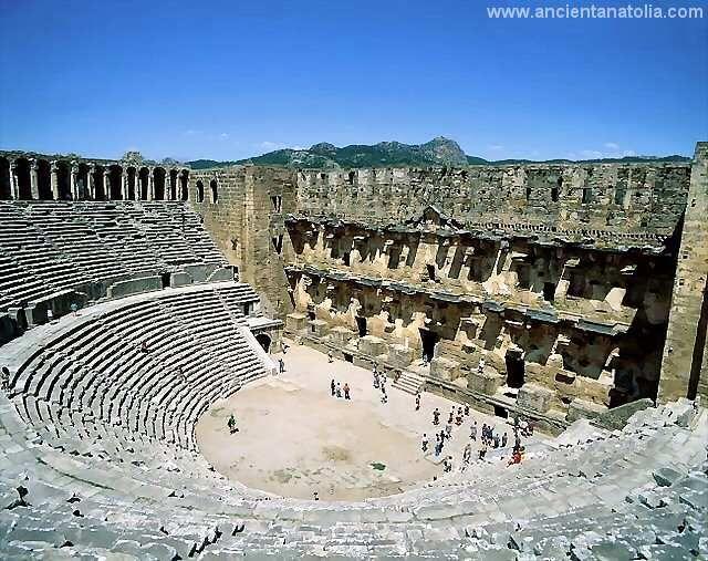 Aspendos, ancient roman theater