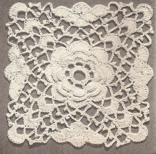 Vintage Crochet Motif - 1947 by Charming Crochet, via Flickr