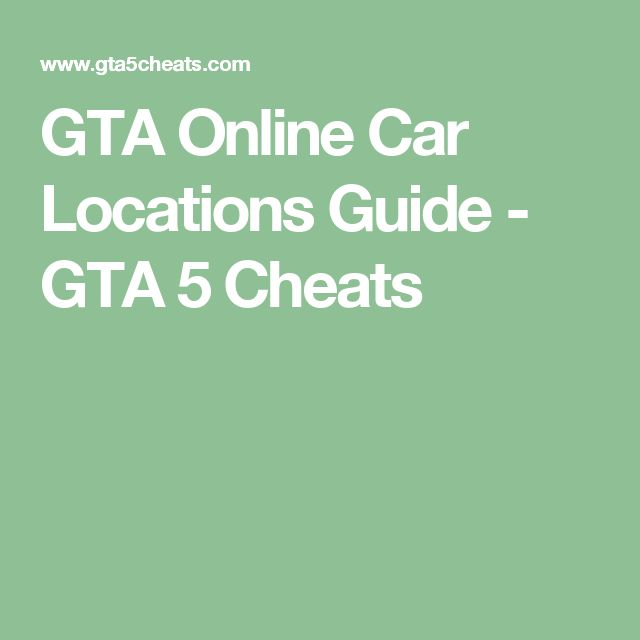 10+ Ideas About Gta Cheats 5 On Pinterest