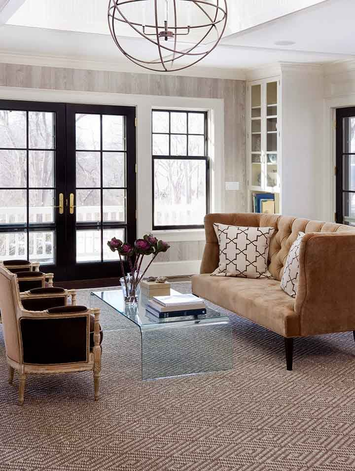 Geometric Patterned Sisal Rug Interior Home Interior Spaces