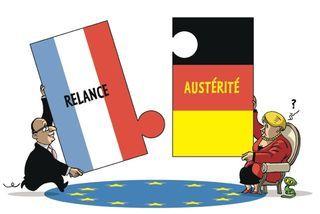 Europe - France - Allemagne - Austérité - Relance - 12 05 23 Sommet BXL