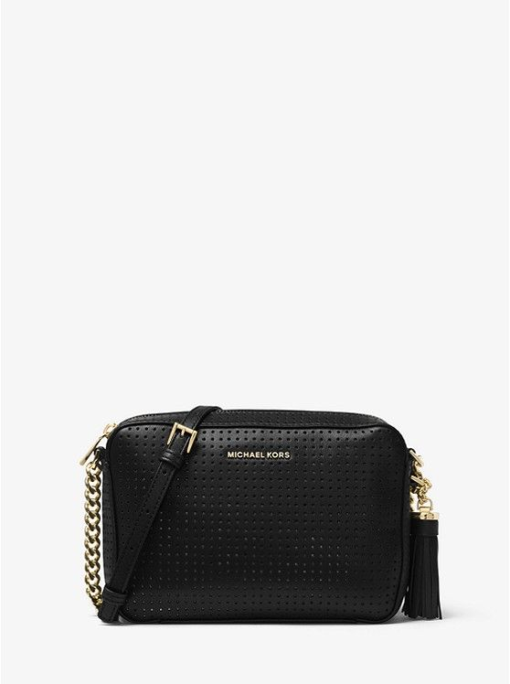 d912b32c7933 Ginny Perforated Leather Crossbody | Wishlist | Michael kors ...
