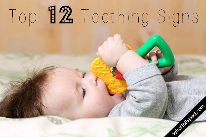 Is your baby teething? Keep an eye out for any of these 12 signs