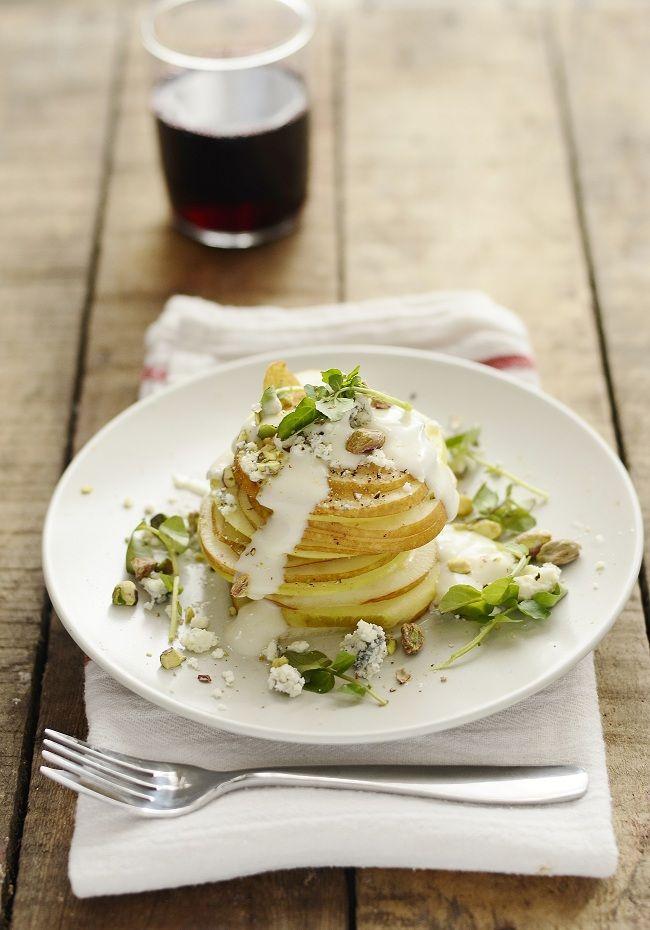 pear rOquefort salad