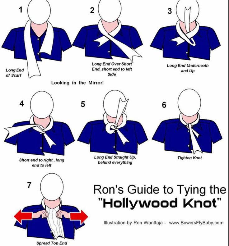 Hollywood Knot | Aviation | Pinterest