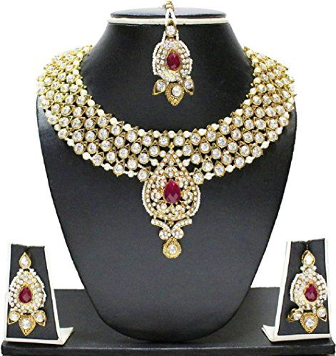 VVS Jewellers Red Stone Indian Bollywood Gold Plated Whit... https://www.amazon.ca/dp/B071ZLP3JK/ref=cm_sw_r_pi_dp_x_yuPnzb2GGNDQS