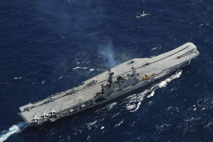 """INS Viraat (R22) is a Centaur class aircraft carrier ex HMS Hermes currently in service with the Indian Navy. INS Viraat (meaning """"giant"""") is the flagship of the Indian Navy, the oldest carrier in service and one of two aircraft carriers based in the Indian Ocean Region."""