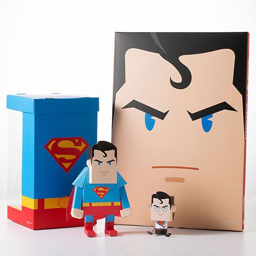 Paper Toy - DC COMICS (SUPERMAN) Made in Korea MOMOT in Toys & Hobbies | eBay