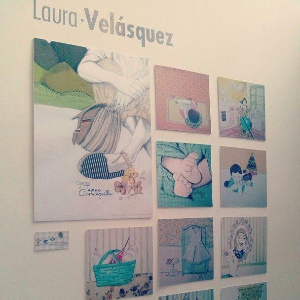 Ilustraciones cuentos de Tomás Carrasquilla-Laura Victoria Velásquez