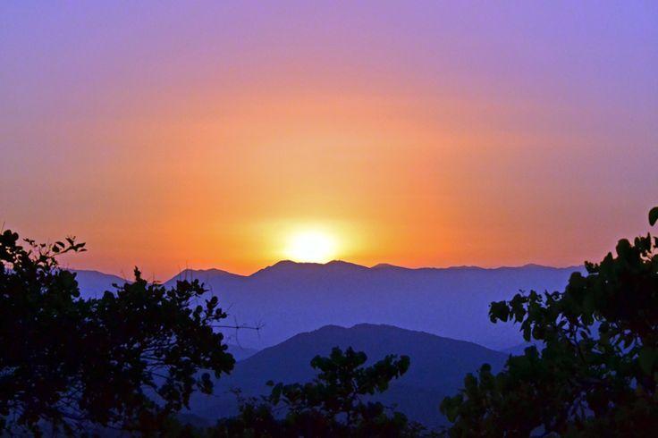 Sunset in Pogoni   VisitPogoni.com  - Οδηγός Πωγώνι 'Ηπειρος