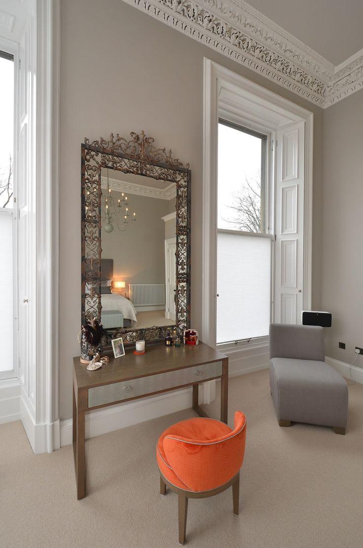 Charlotte James Furniture - House & Garden, The List    Cute orange dressing table chair