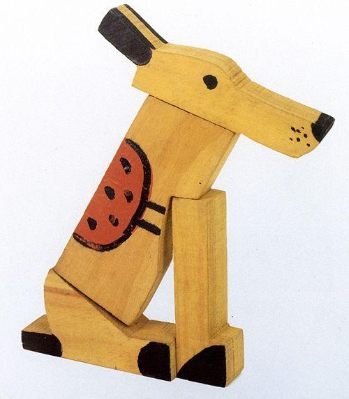 Joaquin Torres Garcia wooden toys for Aladdin