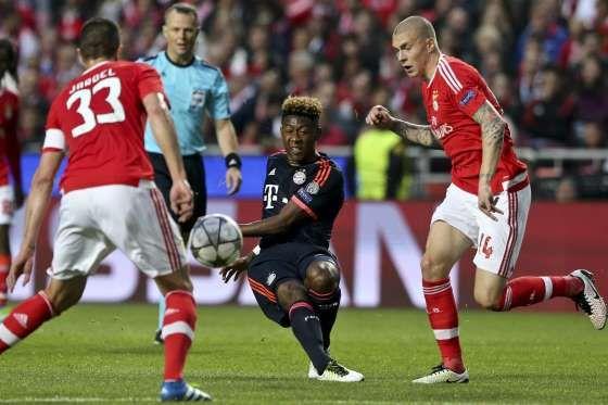 Liga dos Campeões: Benfica vs Bayern de Munique - LUSA/MIGUEL A. LOPES