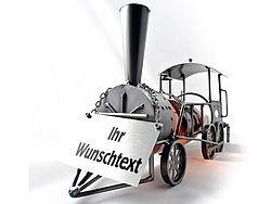 Weinflaschenhalter Lokomotive aus der beliebten Schraubenmännchen-Serie von Hinz und Kunst