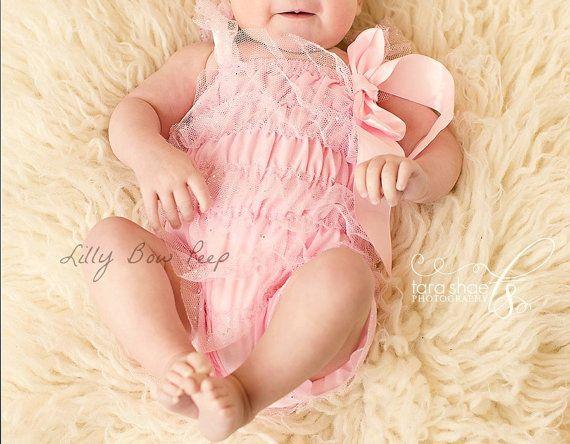 Baby Girl Clothes-Newborn Girl Clothes-Light Pink door LillyBowPeep