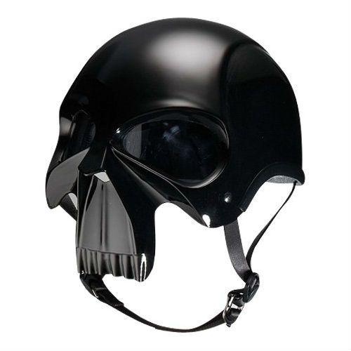 #Skull motorcycle helmet from shutupandtakemymoney.com
