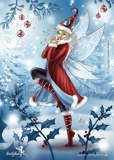 Winter Littlefaery Elf Samira
