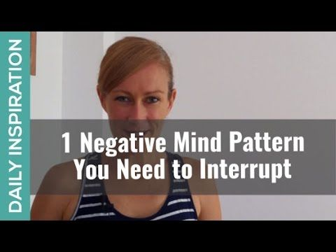 A Negative Mind Pattern You Can Interrupt ❤ SUBSCRIBE ❤ http://www.youtube.com/subscription_center?add_user=pinchmelivingdotcom - Here's 1 negative mind pattern that is sneaky and destructive.  This pattern ends up making bad situations even worse, and good situations ripe for issues! So in every way you want to see this pattern and stamp it out promptly. For the blog and free positive mind training audio, visit -   https://www.pinchmeliving.com/a-negative-mind-pattern-to-interrupt/