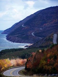 Cabot Trail, Nova Scotia, that way we took...