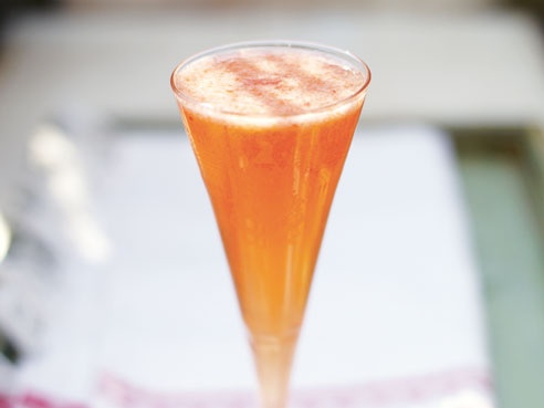 Strawberry Champagne (Alcoholic)