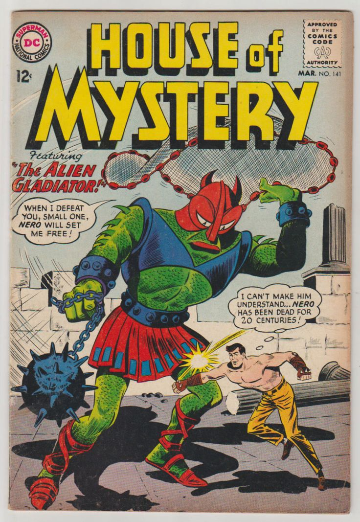 House of Mystery; Vol 1, 141, Silver Age Comic Book. FN. March 1964. DC Comics #houseofmystery #horrorcomics #silveragecomics #comicsforsale