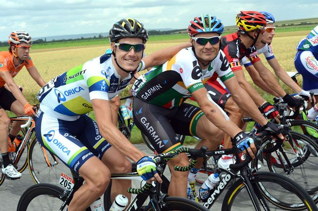 South African Robbie Hunters rides for Garmin