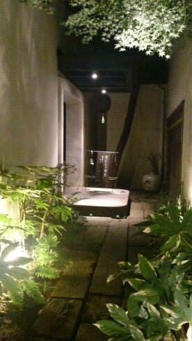 "Entrance of a Japanese restaurant ""Tensei"""
