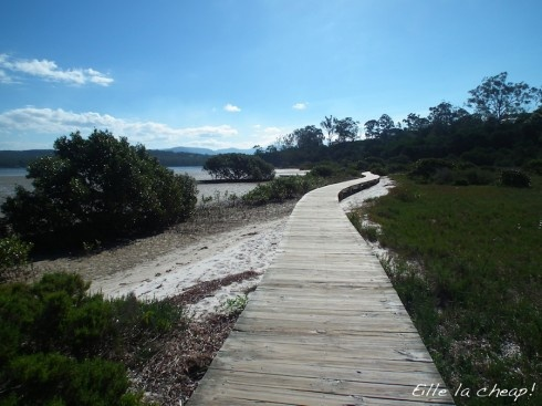Merimbula boardwalk, Lake