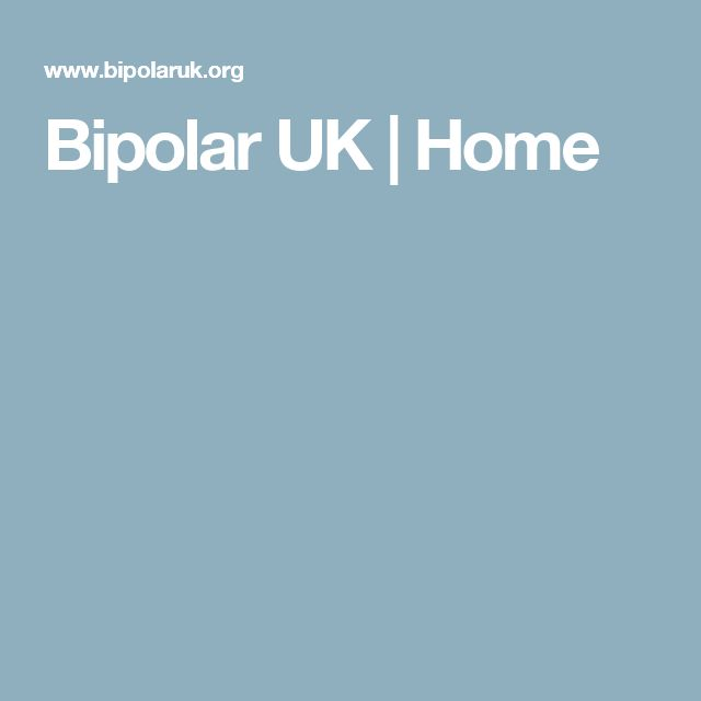Bipolar UK | Home
