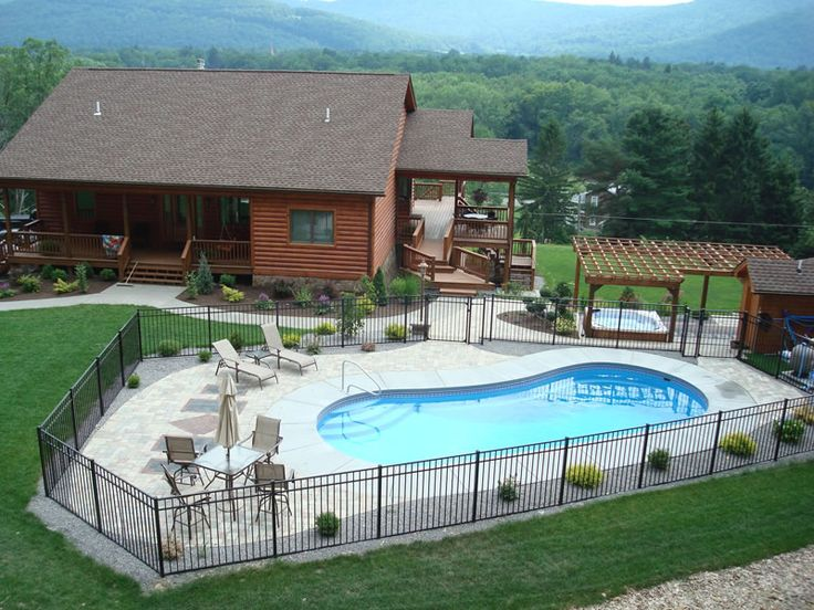 17 Best Images About Pool On Pinterest Hot Tub Deck