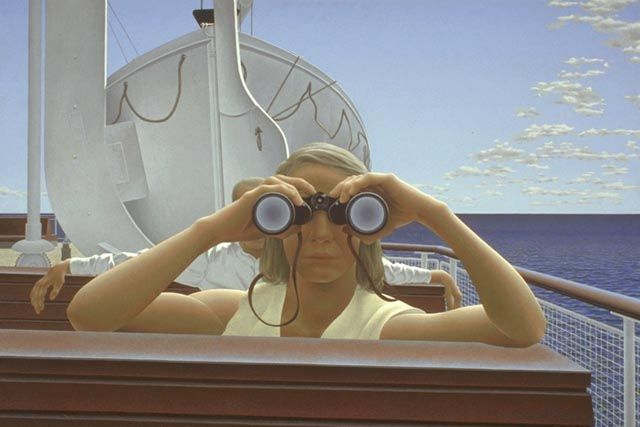 """To Prince Edward Island"" by Alex Colville"