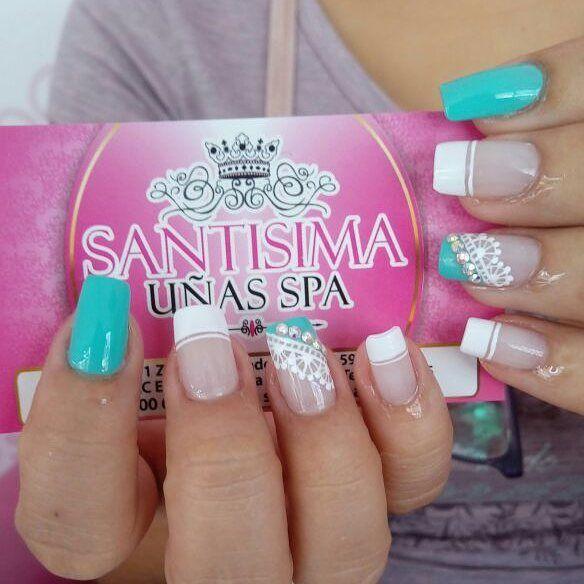 """1,219 Likes, 5 Comments - Cuenta Oficial ✡ ☎ 3224955 (@santisima_nails) on Instagram: """"Santísima uñas spa está ubicado en el centro comercial estación niquia bello Antioquia local 401 A.…"""""""