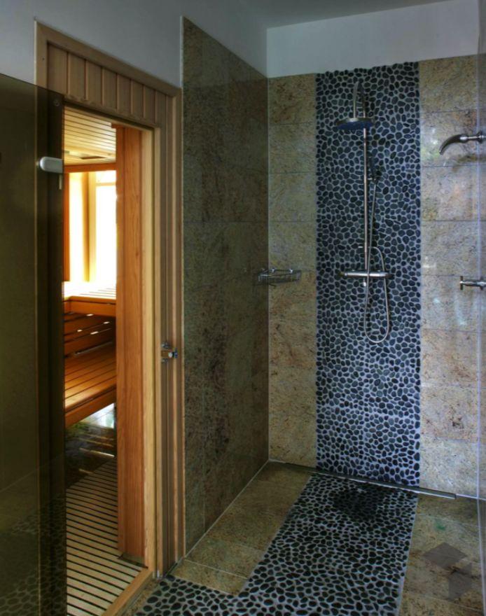 54 best Bad-Ideen images on Pinterest House and Mosaic - ferienhaus 4 badezimmer