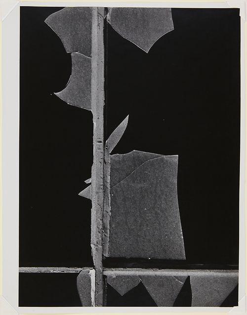 Aaron Siskind (American, 1903-1991)    New York City W 1   1947    Gelatin silver print