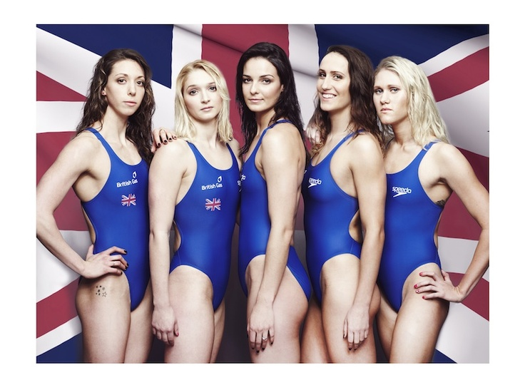 GB's water stars reveal stunning new images showcasing some of Britain's top aquatic talent ahead of the summer.     Amy Smith, Caitlin McClatchey, Keri-anne Payne, Georgia Davies and Jemma Lowe teamed up to produce the striking images, which show that Britain's best aquatic talent is ready for the challenge ahead.    Free Swims for Britain runs until 30th August 2012. For further information and to book your free swims go to www.britishgas.co.uk/freeswimming