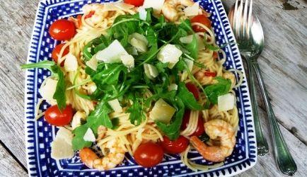 Een heerlijk en simpel pasta gerecht voor liefhebbers van grote garnalen. Het…